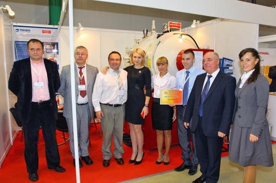 Шметц, ИВА, Формет - вручение дипломов участникам выставки 2011