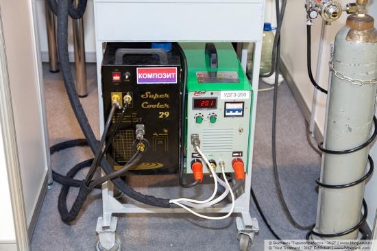 Cтенд компании Композит - оборудование для плазменной закалки