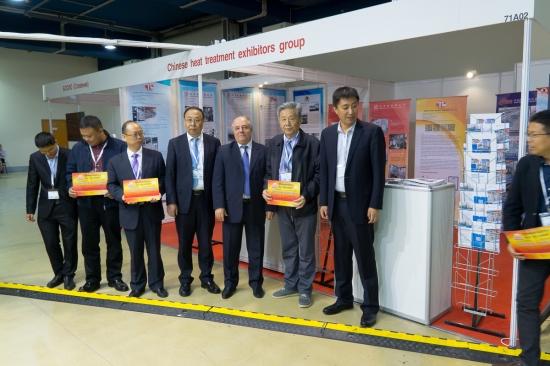 Делегация китайских производителей термического оборудования