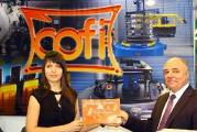 Вручение диплома компании COFI S.p.A. на выставке Термообработка - 2010